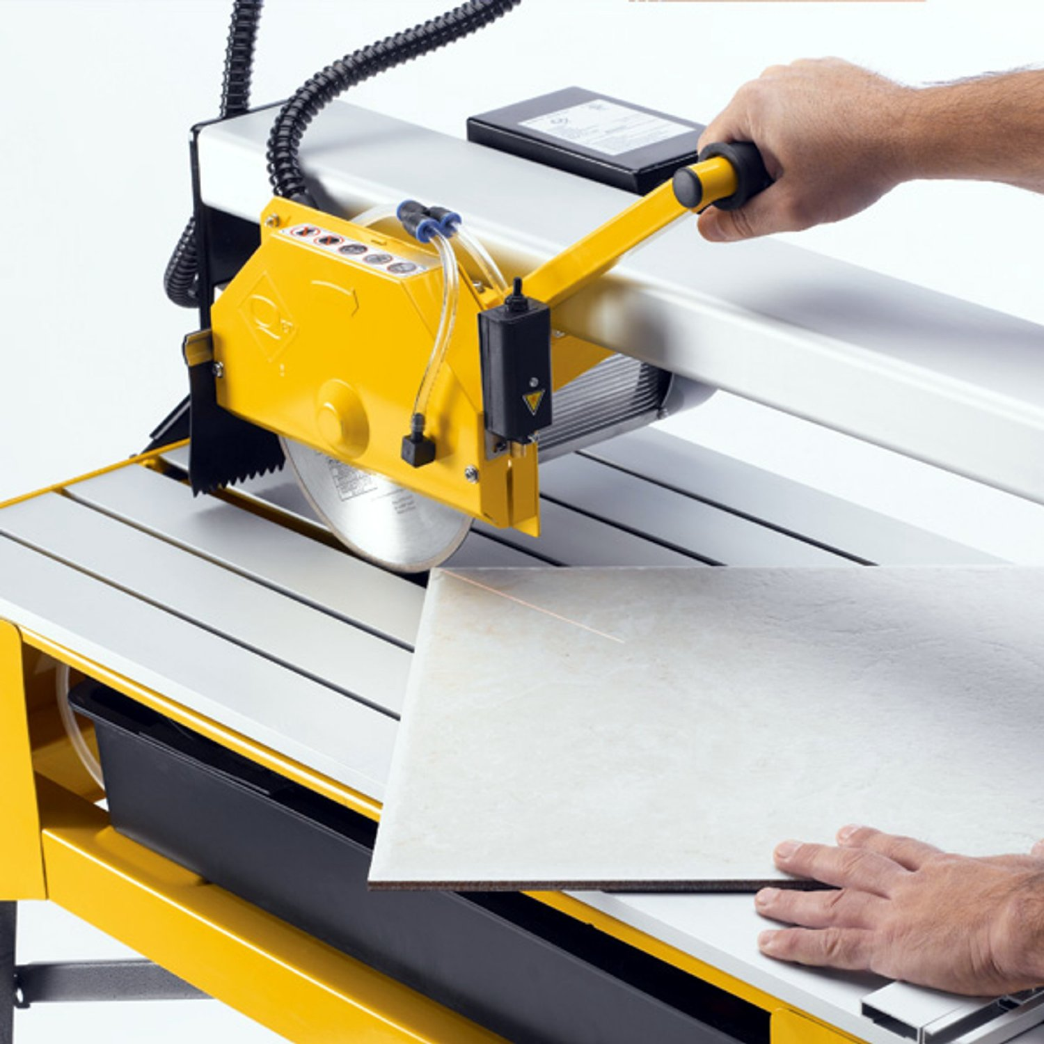 Tile saw the tile home guide 4 always wear a niosh national institute for occupational safety and health approved mask rated type n 95 or higher when cutting tile when cutting tile dailygadgetfo Images