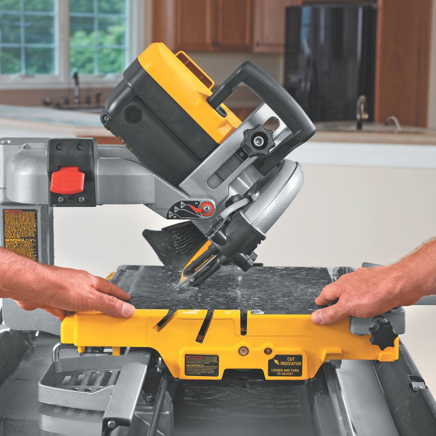 Tile saw the tile home guide just about every tiling job requires cutting tile what you will be cutting how much and in what manner will determine the tool you use to cut with dailygadgetfo Gallery