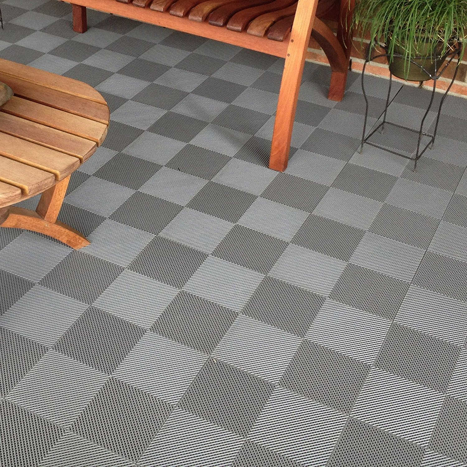 Garage Make Over Outdoor Tiles The Tile Home Guide