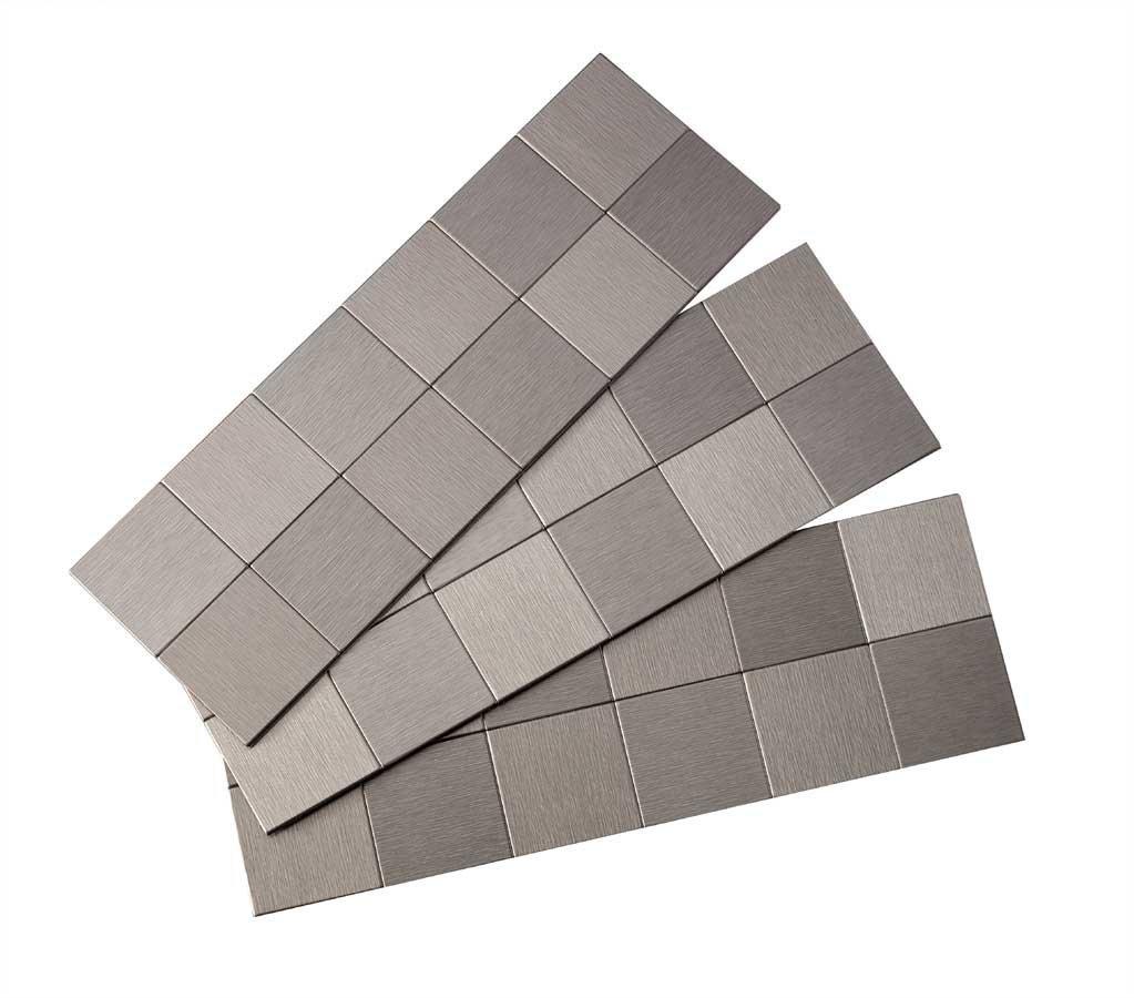 Stainless Steel Backsplash Tiles
