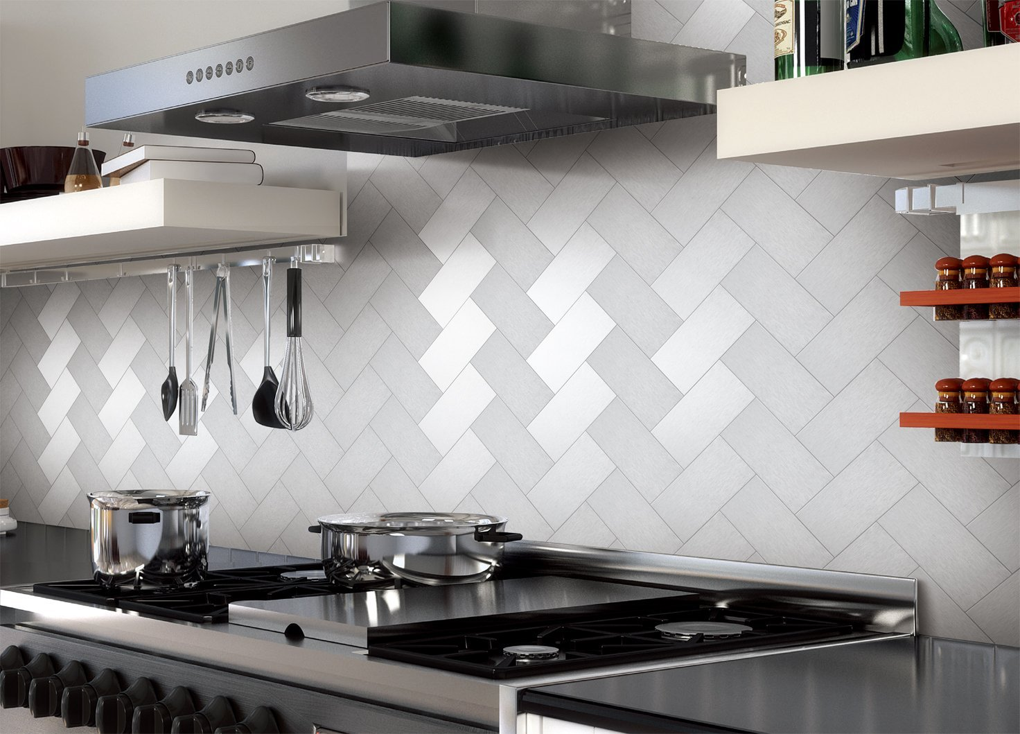 Stainless Steel Backsplash Tiles | The Tile Home Guide