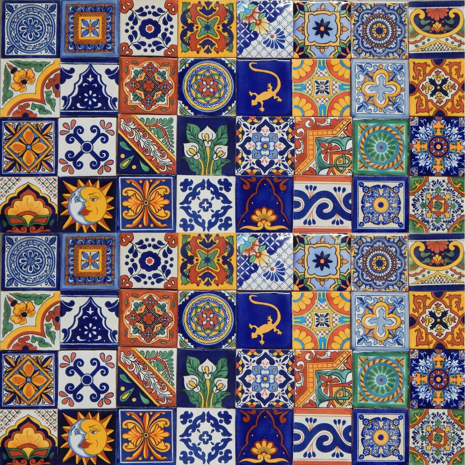 Fireplace tiles the tile home guide for Azulejo de talavera mexico