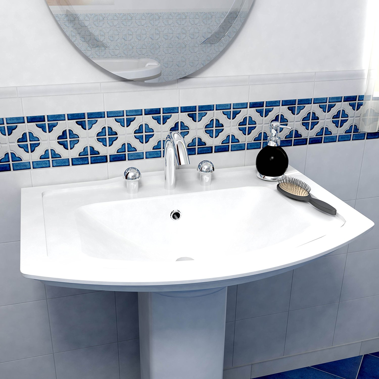 Bathroom Tiles And Borders tile borders | the tile home guide