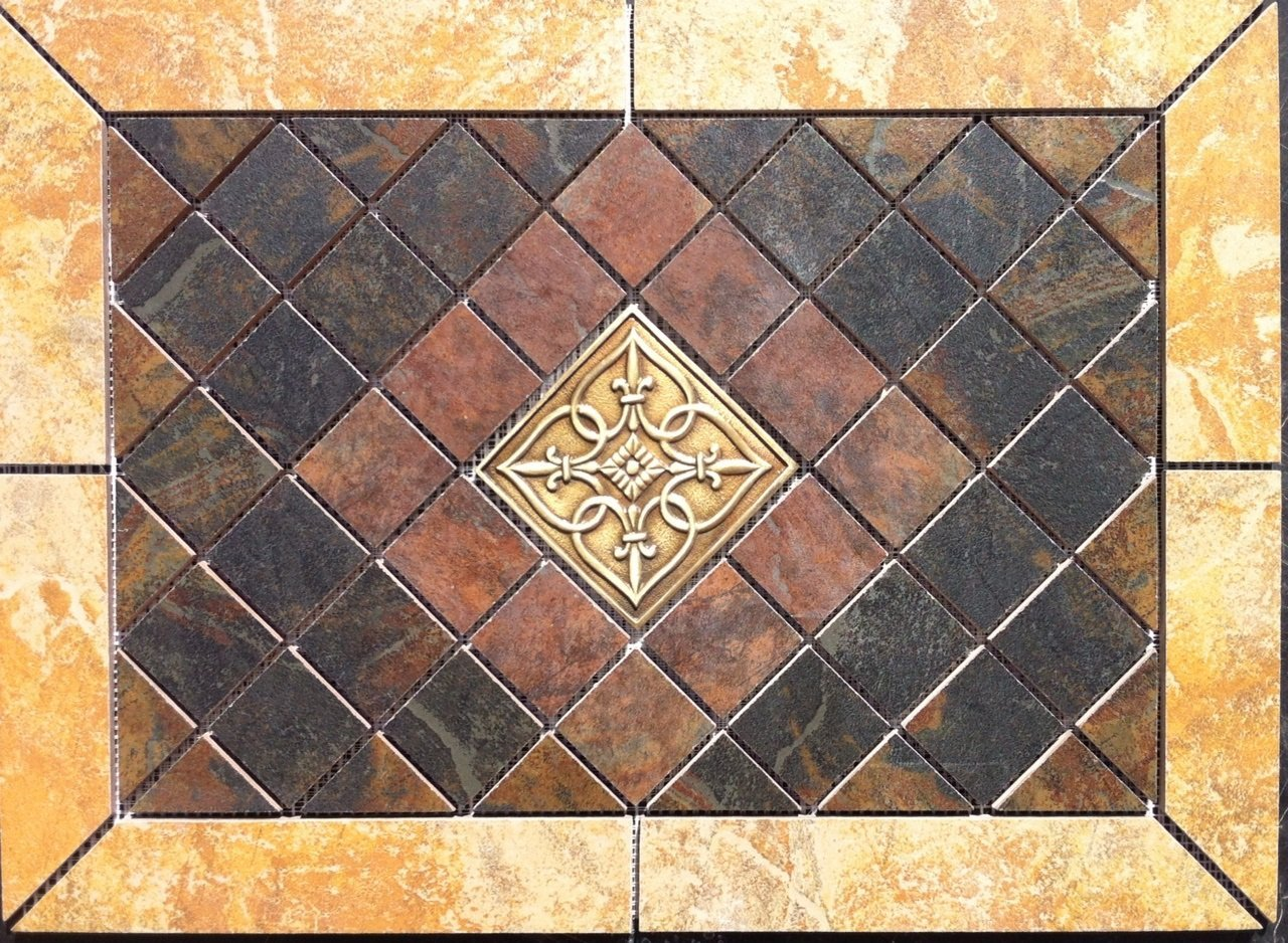 Tile medallions the tile home guide tile medallions dailygadgetfo Choice Image