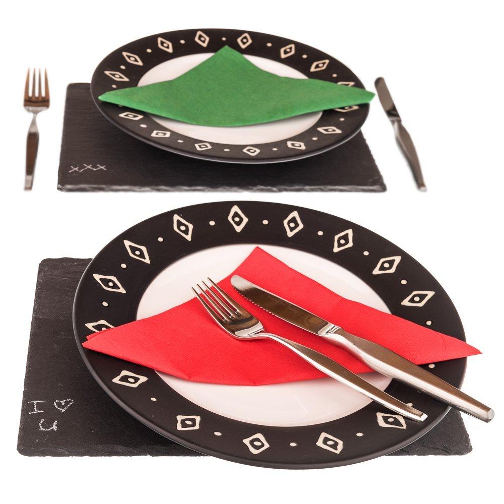 Slate Tiles For Serving Food
